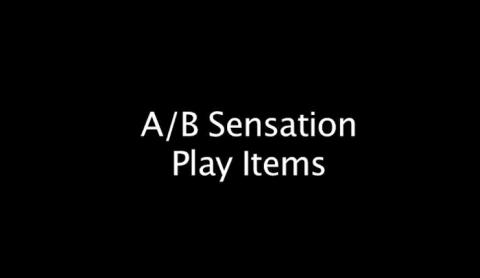 A/B Sensation Items