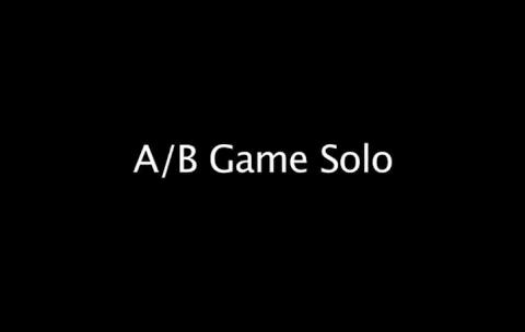 A/B Game Solo