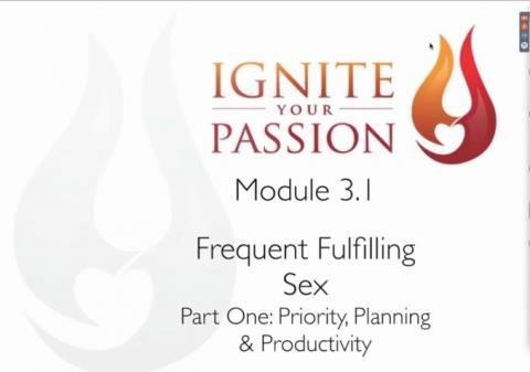 Ignite Your Passion - Module 3.1