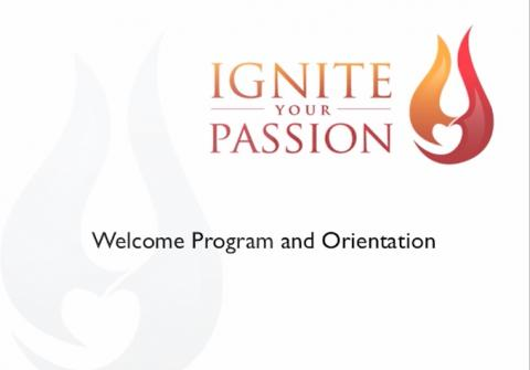 Ignite Your Passion - Welcome Webinar