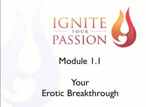 Ignite Your Passion - Module 1.1