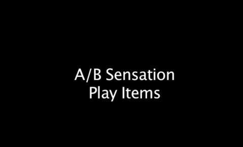 A/B Sensation Play Items