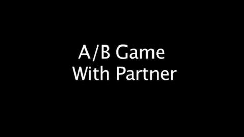 A/B Game With Partner
